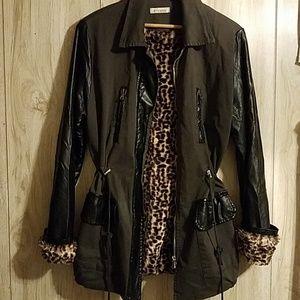 ⚡PRICE DROP Floreiza Italian Vegan Leather Jacket
